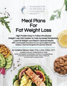 WNCG® Meal Plans for Fat Weight Loss